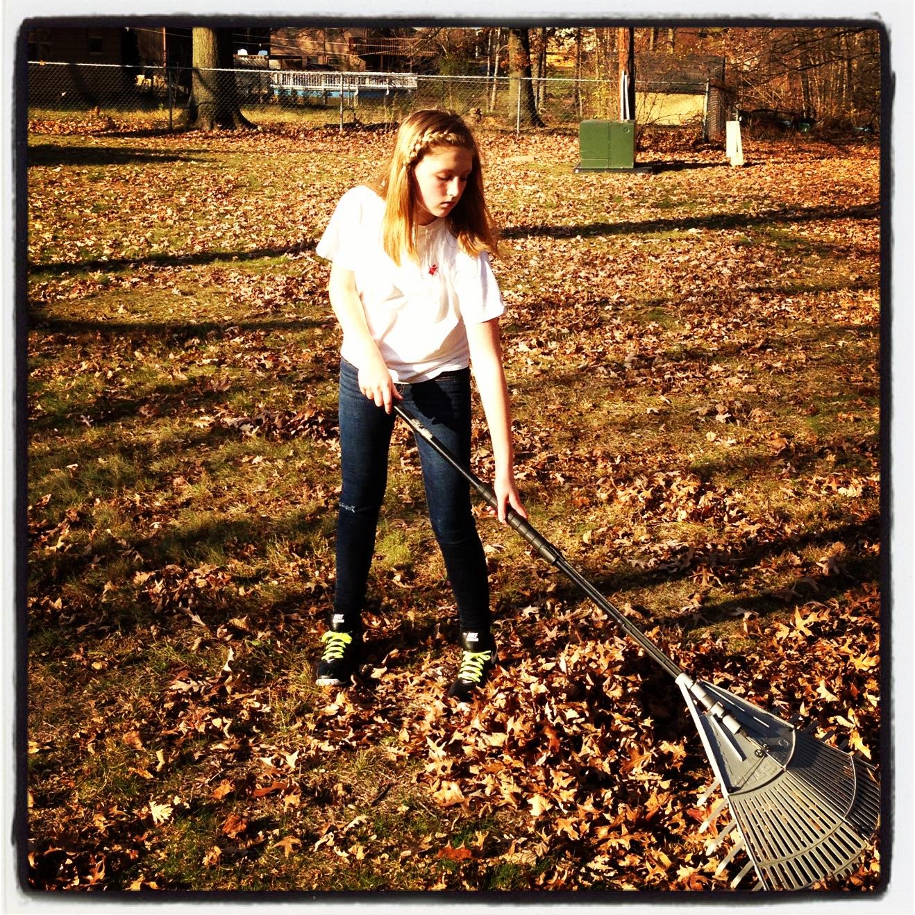 Raking Leaves To Help A Neighbor Impact 52