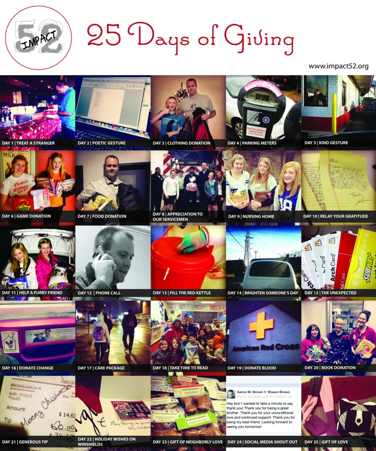 25 Days of Giving small