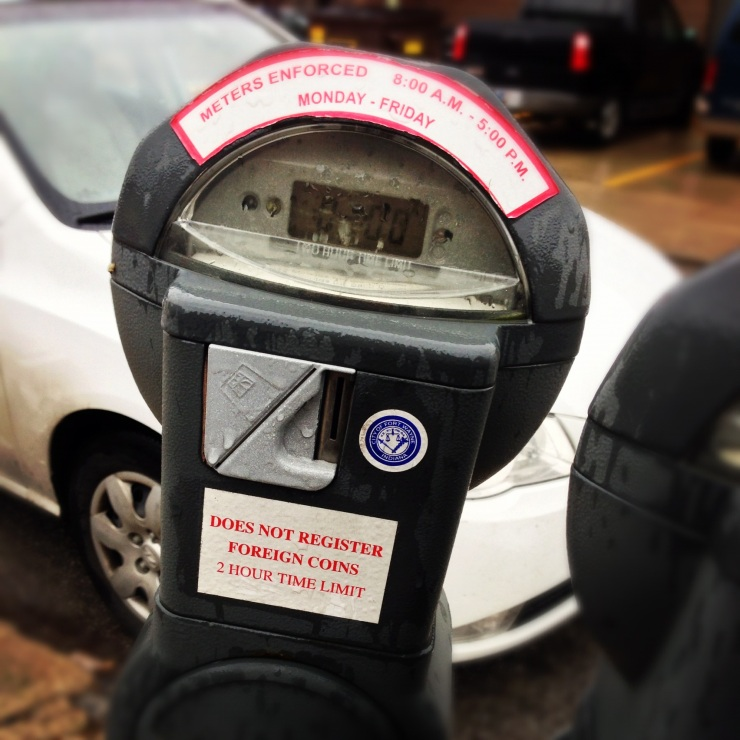 Impact 52 fills parking meters