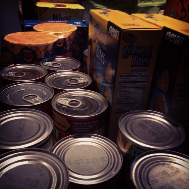 Impact 52 donates 28 pounds of food
