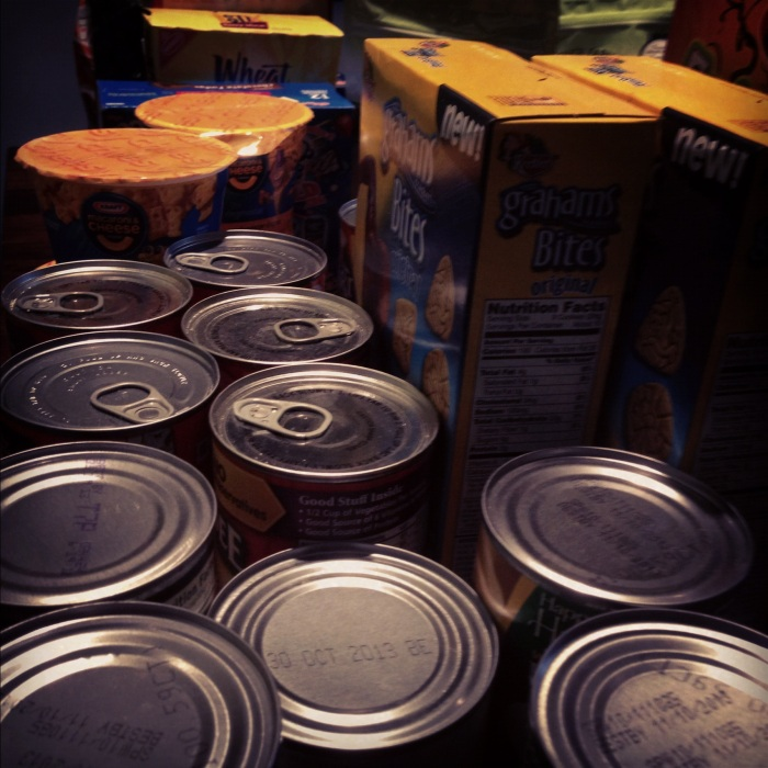Impact 52 donates 28 pounds of food