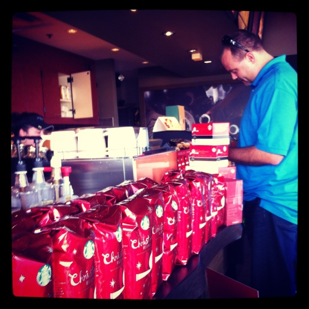 Buying coffee for strangers at Starbucks