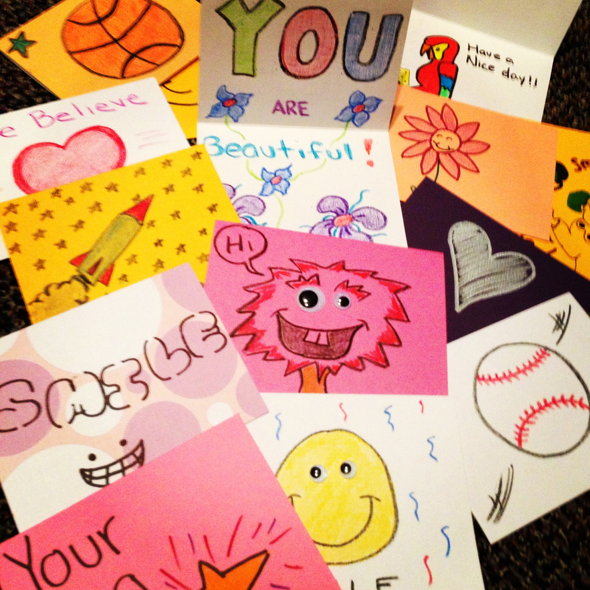 Image result for kids making cards