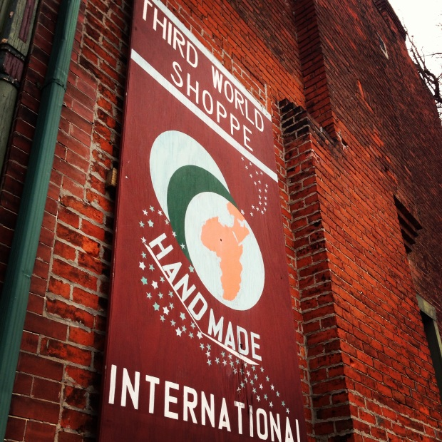 Impact 52 volunteers at the Third World Shoppe