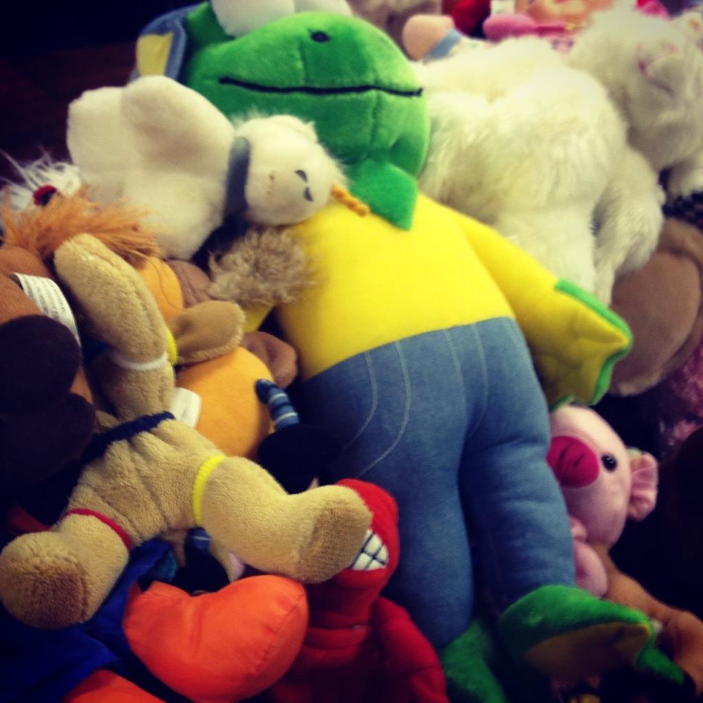 Impact 52 sorts stuffed toys
