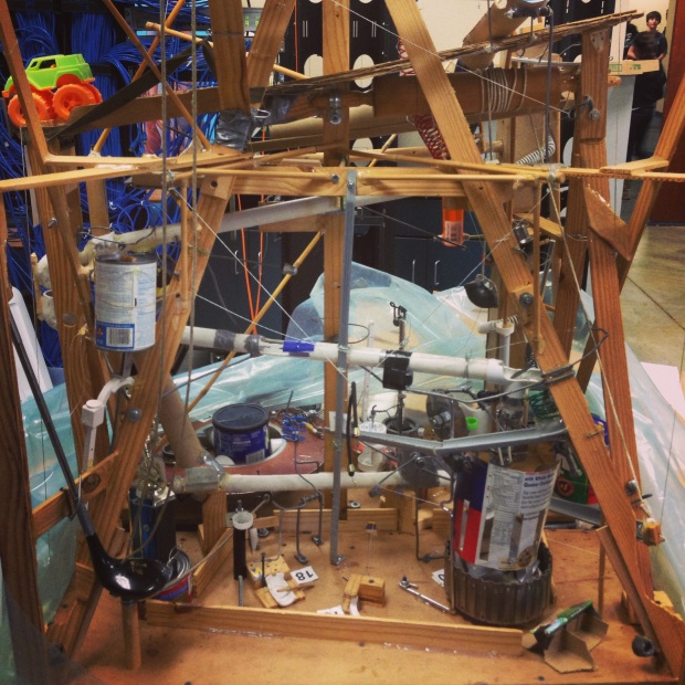 A Rube Goldberg example