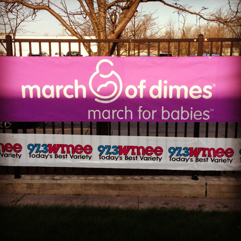 Impact 52 volunteers at the March for Babies