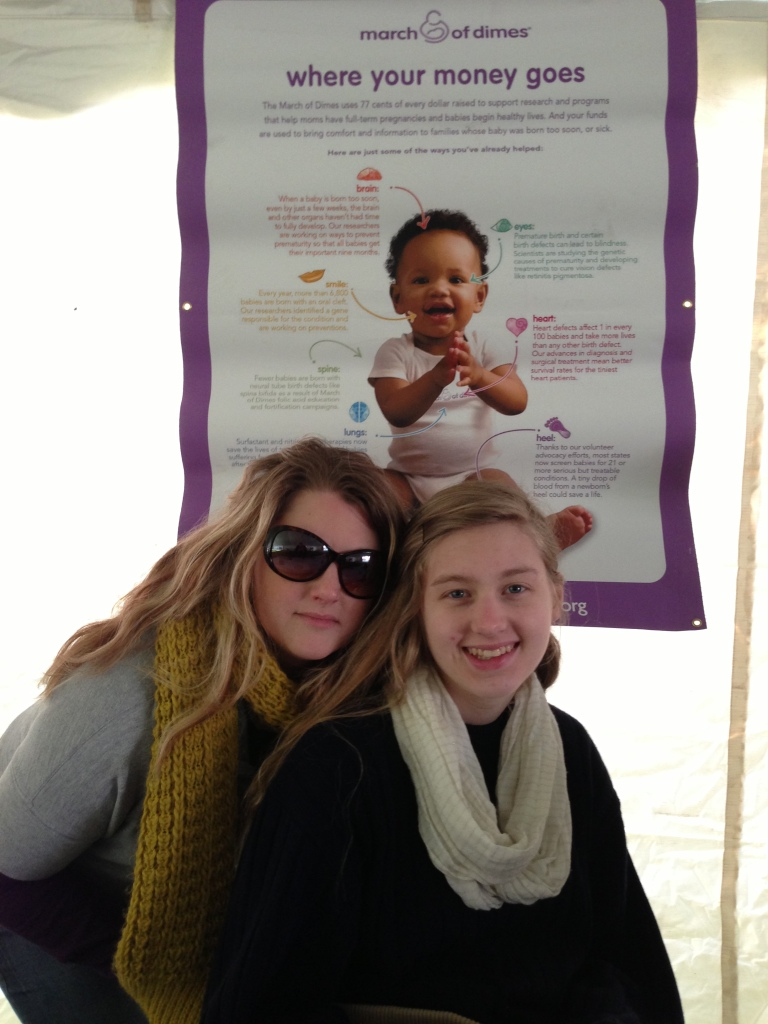Impact 52 volunteers with the March of Dimes