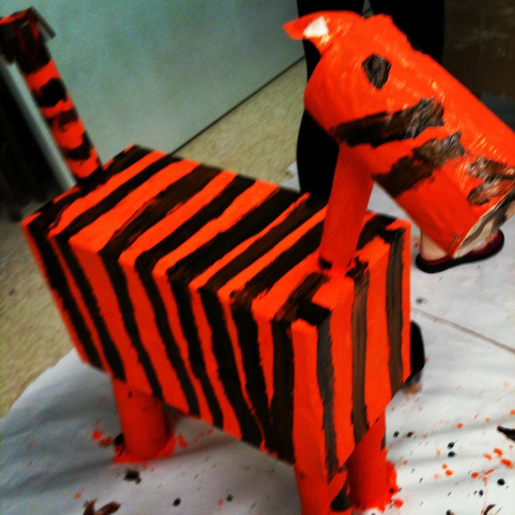 Impact 52 paints a tiger