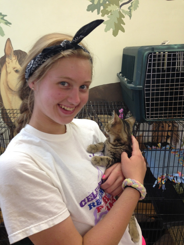 Kelsi at the Allen County SPCA