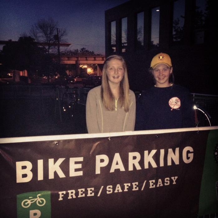 Impact 52 volunteers as bike valets