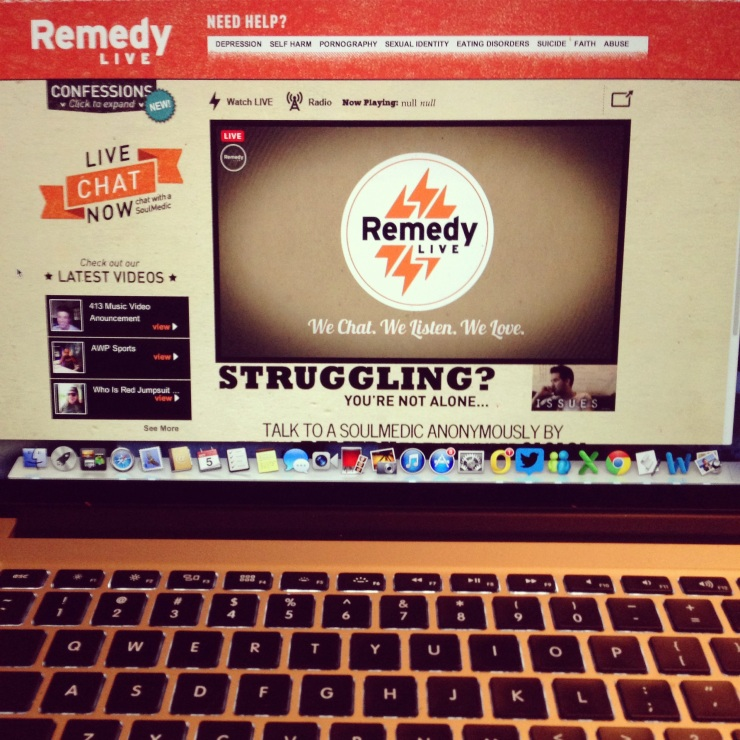 Impact 52 volunteers with Remedy Live