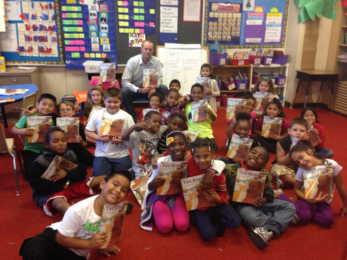 Impact 52 reads at Adams Elementary