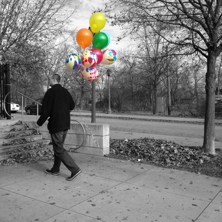 Impact 52 gives out balloons