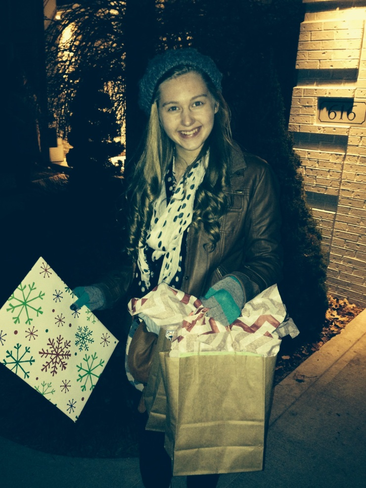 Impact 52 delivers Christmas gifts