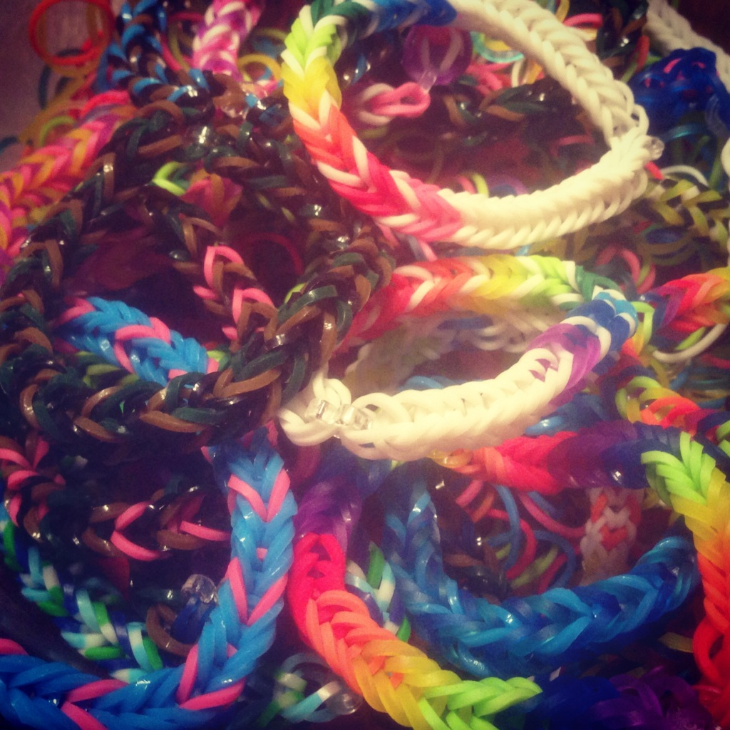 Impact 52 makes bracelets for Create A Blessing