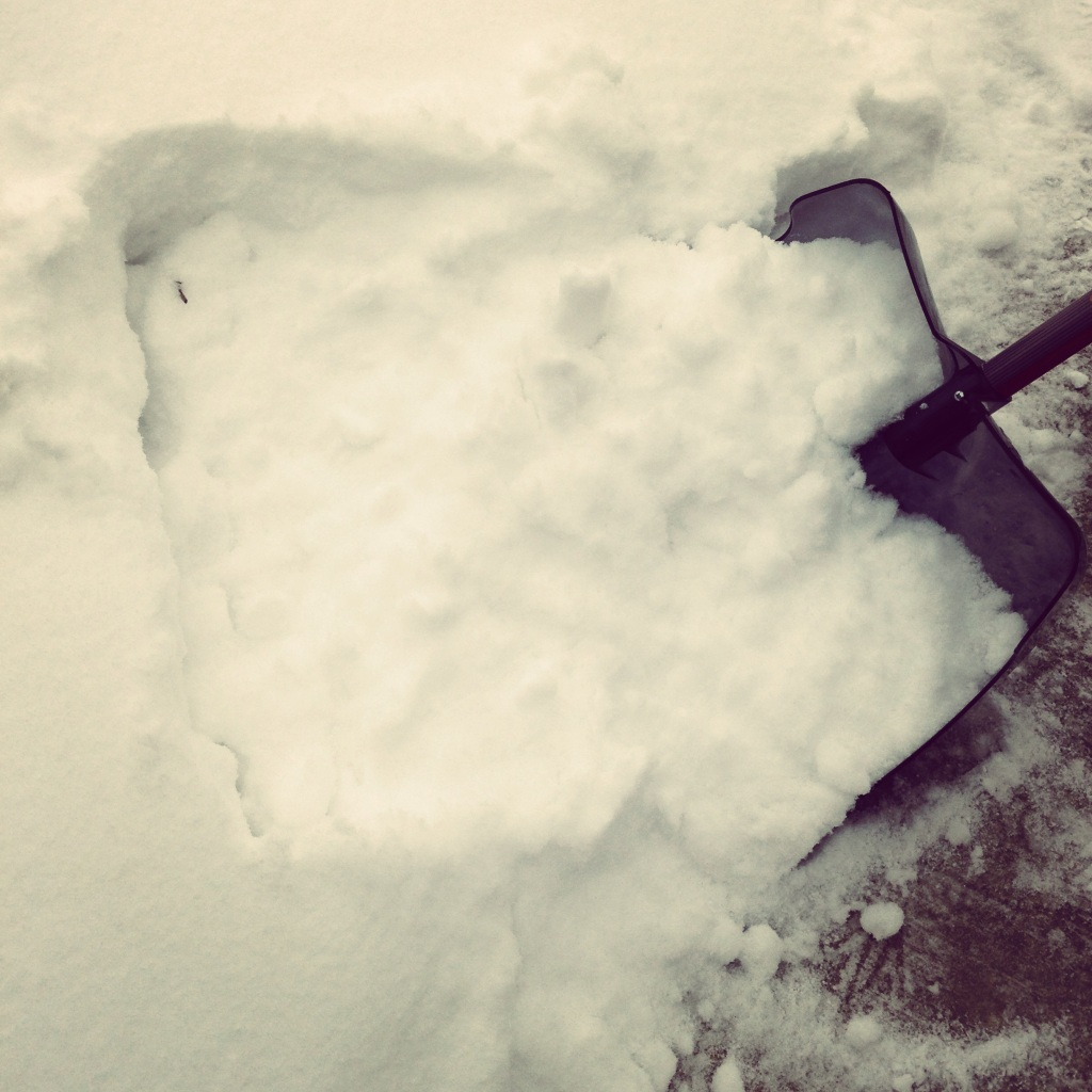Impact 52 shovels snow