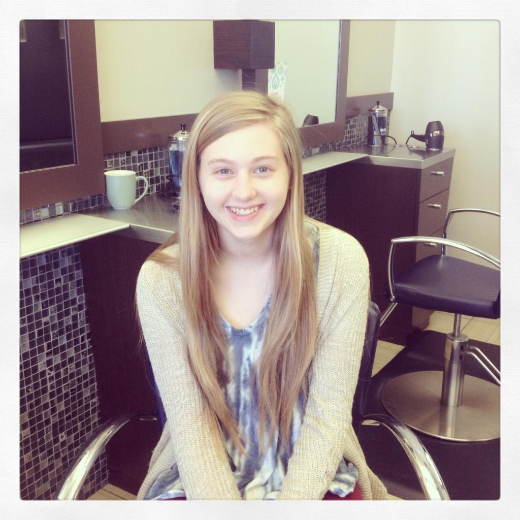 Impact 52 donates hair