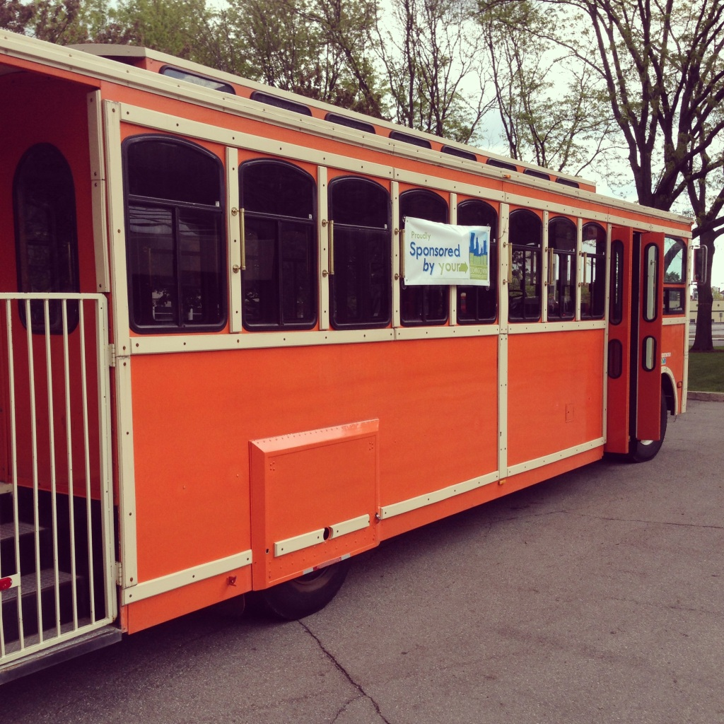 Impact 52 serves as trolley docents