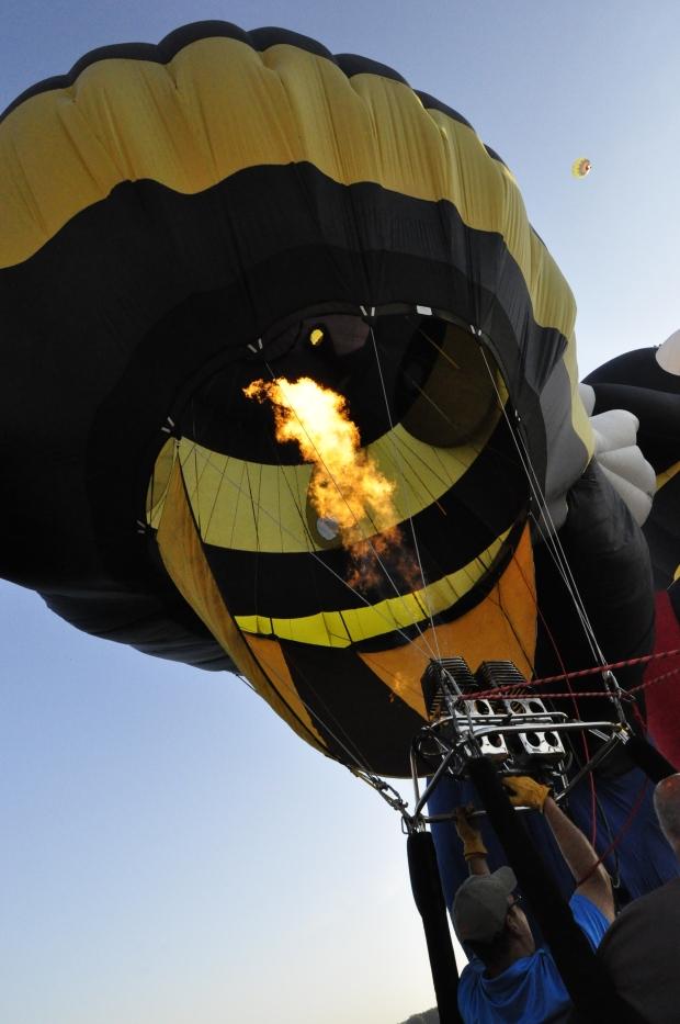 Impact 52 volunteers as balloon chase team
