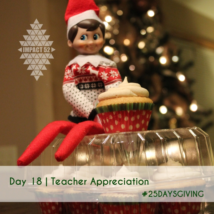 DAY 18 of #25DaysGiving