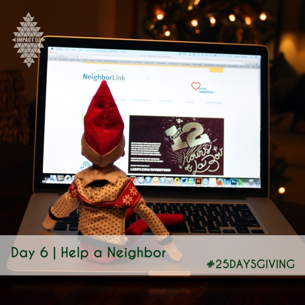 #25DaysGiving Day 6