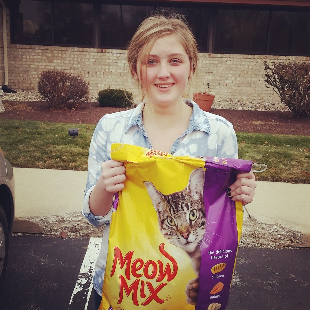 Impact 52 donates cat food for #25DaysGiving