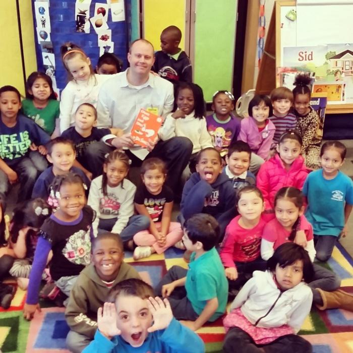 Impact 52 visits Adams Elementary