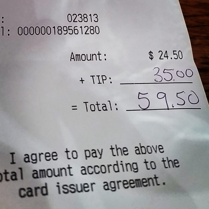 Impact 52 leaves a generous tip