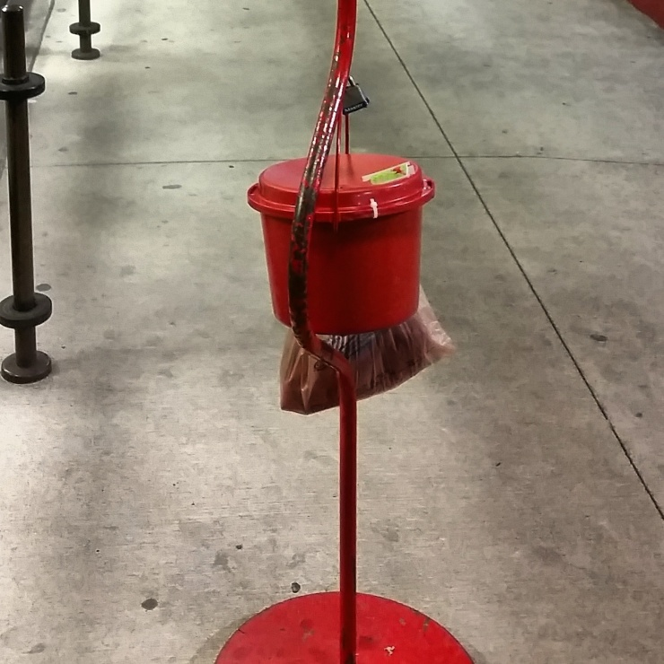 Impact 52 filled the red kettle